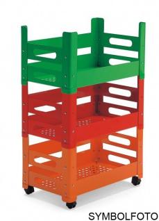 Graepel High Tech hochwertiges P.U.B. Multifunktions-Schrankelement orange lackiert