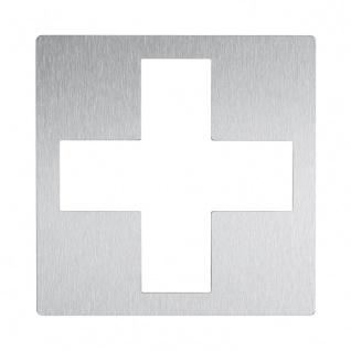 Wagner-EWAR Piktogramm 1. Hilfe AC460 Edelstahl matt geschliffen