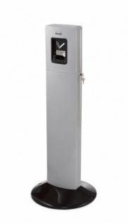 RUBBERMAID Metropolitan Smokers? Station aus Aluminium in Schwarz oder Silber - Vorschau 2