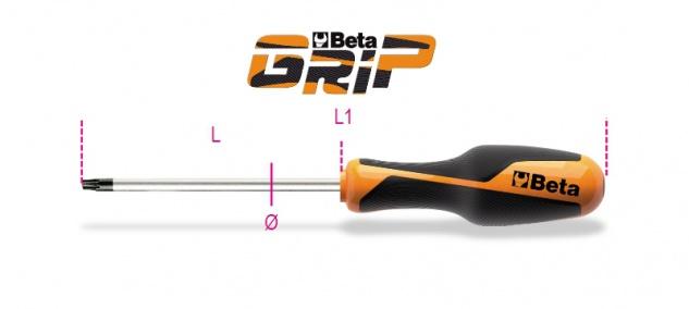 Beta Stiftschlüssel mit Griff, für Torx®-Schrauben 1267TX