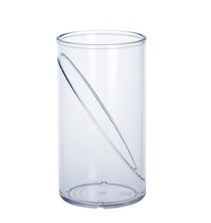 Wasserglas 0, 25l SAN Glasklar aus Kunststoff wiederverwendbar