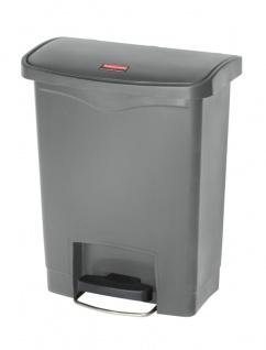Slim Jim Step On Container Front Step Kunststoff 30 Liter, Rubbermaid