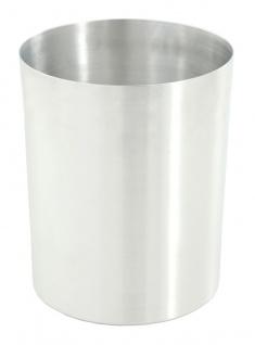 Papierkorb aus Aluminium 13 Liter Aluminium