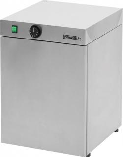Casselin Tellerwärmer aus Edelstahl - 30, 60 oder 120 Stk. - Sicherheitsthermostat