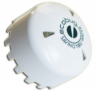 SET - EcoBug® Kunststoff Urinalmatte weiß inkl. Extra strong EcoBug Urinal cap - Vorschau 3