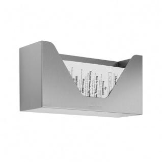 Wagner-EWAR Hygienebeutel-Vorratsbehälter WP155 Edelstahl für Aufputzmontage