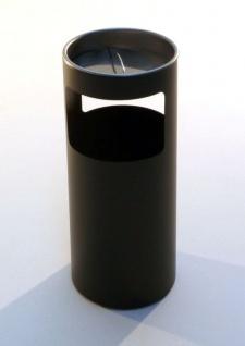 Graepel G-Line Pro LIVIGNO Standascher aus Chromstahl 1.4016, schwarz lackiert
