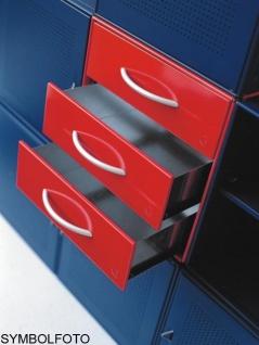 Graepel High Tech 3 hochwertige Schubladen aus lackiertem Stahl