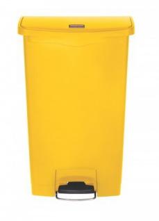 RUBBERMAID Slim Jim® Kunststoff-Tretabfallbehälter mit Pedal an der Breitseite 68 L - Vorschau 2