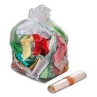 Rossignol 100 Stück transparente Müllbeutel 110L