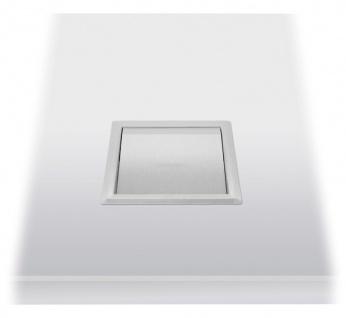 Wagner-EWAR Einwurfklappe 170x170x30 WP158-1 Edelstahl für Waschtischmontage