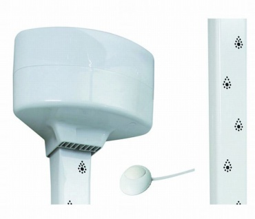 Apres Shower Körpertrockner - von Kopf bis Fuß - für den direkten Einbau - IPX4