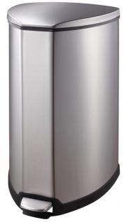 Tritt-Mülleimer Grace 35 Liter, EKO Edelstahl gebürstet