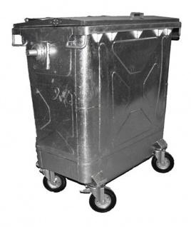Stahl Container 770 Liter Verzinkt
