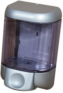 Marplast Seifenspender Satin aus Kunststoff 1 Liter