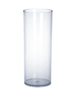 20er Set Barglas 0, 25l PC Kunststoff glasklar wiederverwendbar lebensmittelecht