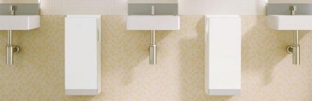 Set: Mitsubishi Jet Towel Weiss mit Doppelstrahltechnik + Seifenspender Gratis - Vorschau 5