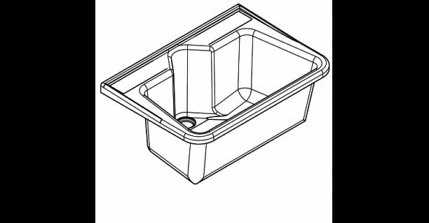 Franke Mehrzweckbecken SIRIUS aus glasfaserverstärktem Polyester-Recyclingmaterial - Vorschau 3