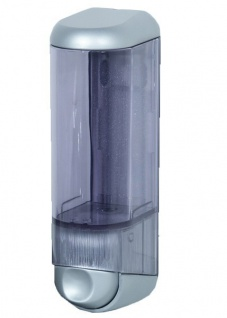 Marplast Seifenspender aus Kunststoff in Chrom oder Satin 0, 25 L zur Wandmontage