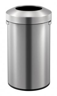 Urban Bin 90 Liter, EKO Edelstahl gebürstet