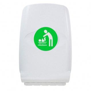 Wandwickeltisch aus Kunststoff - Senkrecht - Mit hohe Kanten