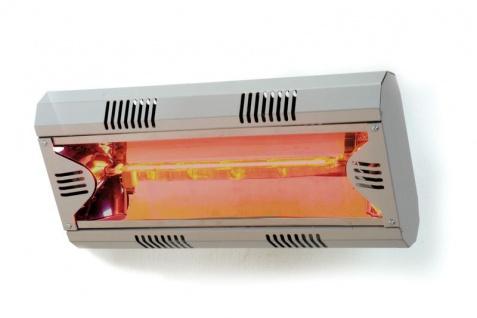 Moel Hathor Infrarot Heizstrahler 791 aus Aluminium mit 2000 Watt zur Wandmontage - Vorschau 2