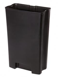 Inneneimer für den 68 Liter Front Step Kunststoff, Rubbermaid Schwarz