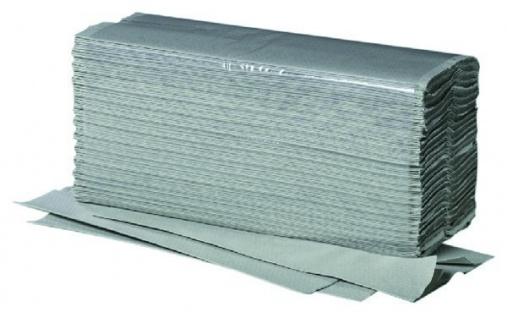 1/2 Palette (16 Kartons - je 5000 Stk.) Papierhandtücher ZZ/V-Falz - 100% recycled - grün