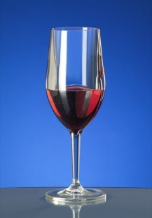 6er Set Kunststoff Weinglas Vinalia 1/8l SAN glasklar wiederverwendbar - Vorschau 3