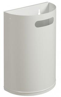 Rossignol Arkea robuster und abnehmbarer Abfallkorb 20 Liter zur Wandmontage