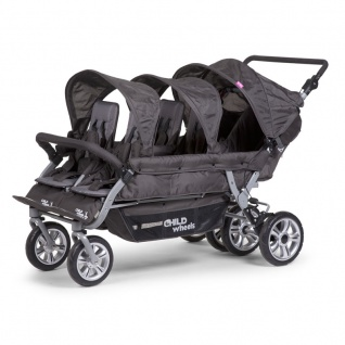 Childhome Six Seater 2 Autobrake Sportwagen Anthracite +Rc+Sc