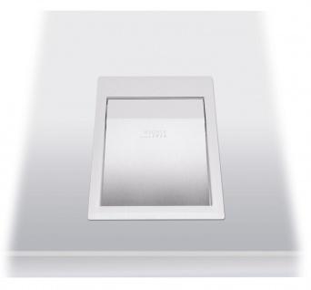 Wagner-EWAR Einwurfklappe 170x235x30 WP154 Edelstahl für Waschtischmontage