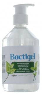 Bactigel Desinfektionsmittel 0, 5 Liter (A/H1N1 - HIV) mit Glycerin