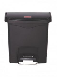 RUBBERMAID Slim Jim® Kunststoff-Tretabfallbehälter mit Pedal an der Breitseite 15 L - Vorschau 5