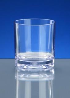10er Set Whiskey-Glas SAN aus Kunststoff mit extra dicken Boden kaum von Glas zu unterscheiden - Vorschau 2
