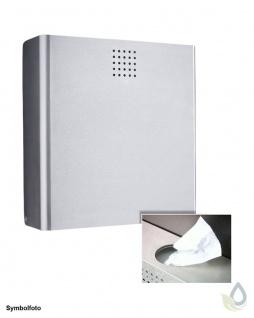 Proox® ONE pure PU-400 2in1 Hygiene-Abfallbehälter + Hygienebeutelspender Edelstahl