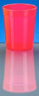 20er Set Mehrweg-Becher 0, 5l - rot- Kunststoff - Vorschau 2