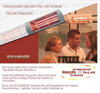 Heizstrahler Solamagic 1400 ECO+ Wand oder Decke Montage - Vorschau 2