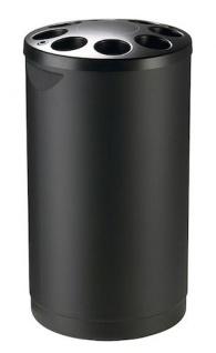 Rossignol Multigob schwarzer Bechersammler aus Kunststoff mit oder ohne Abfallkorb - Vorschau 1