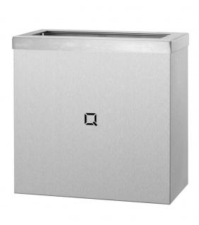 Qbic-line Abfallbehälter offen erhältlich in 9L, 30L und 85L aus Edelstahl