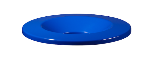 NEO Deckel für 30/50L aus pulverbeschichtetem Stahl mit UV-Absorber von Rossignol