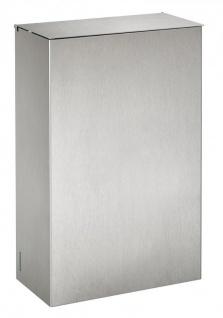 Rossignol Axos Wandabfallbehälter 10L aus gebürstetem Edelstahl mit Deckel