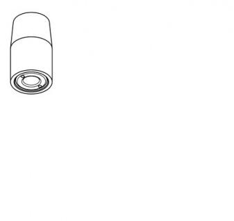 Franke Düsenbrause DN 15 mit automatischer Wassermengenregulierung aus Messing - Vorschau 3
