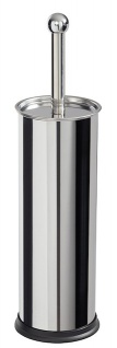 Rossignol Toilettenbürstenhalter zum Aufstellen aus Edelstahl mit Kunststoffgriff