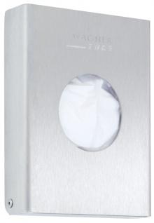 Wagner-EWAR Hygienebeutelspender WP156 Edelstahl für Aufputzmontage