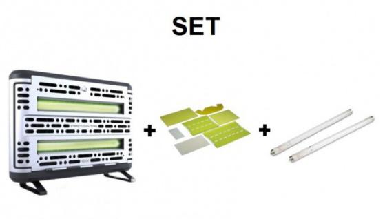 SET Insect-O-Cutor + 1x6 Klebefolien Edge + 2x Röhre Splitterschutz - Vorschau 1