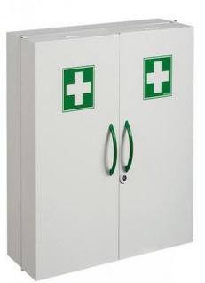 Rossignol Clinix Medizinschrank mit 2 Türen und Magnetverschluss/Schlüsselverrieglung
