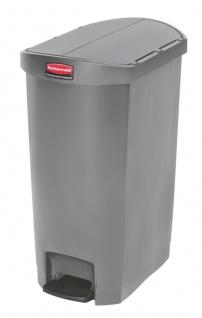 Slim Jim Step On Container End Step Kunststoff 50 Liter, Rubbermaid