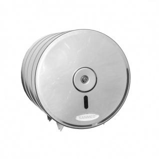 Sanmed Jumbo Toilettenpapierspender aus Edelstahl für max. 190 mm - HACCP