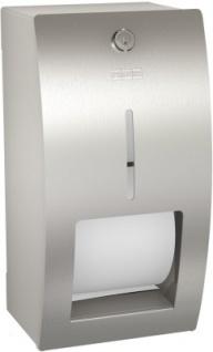 Franke WC-Rollenhalter Stratos mit Spindelsystem zur Aufputzmontage